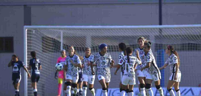 Liga MX Femenil: América golea y le quita el invicto a Pumas