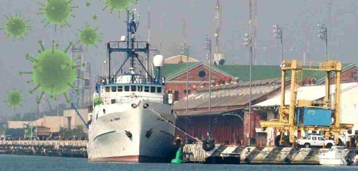Suman 18 los tripulantes enfermos por covid-19 que llegaron en barcos a Tampico