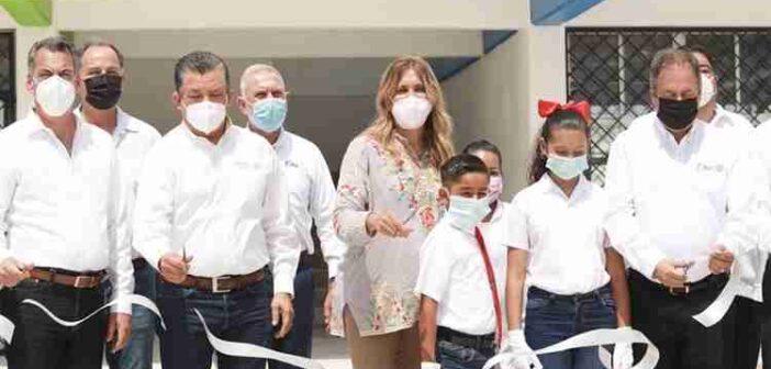 Nueva escuela secundaria número 15 en Reynosa, fortalece la educación pública en Tamaulipas